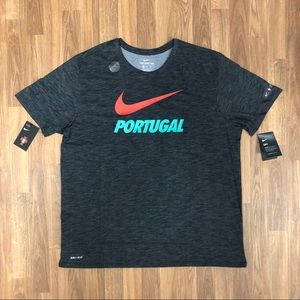 ⚽️ NWT Nike Portugal Soccer Men's T-Shirt Size XXL